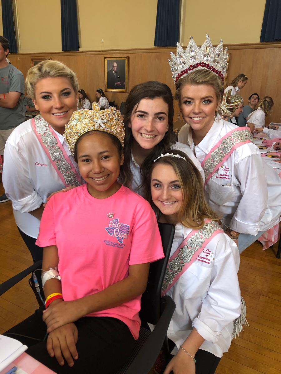 Duchesses and Driscoll Children's Hospital Child smiling