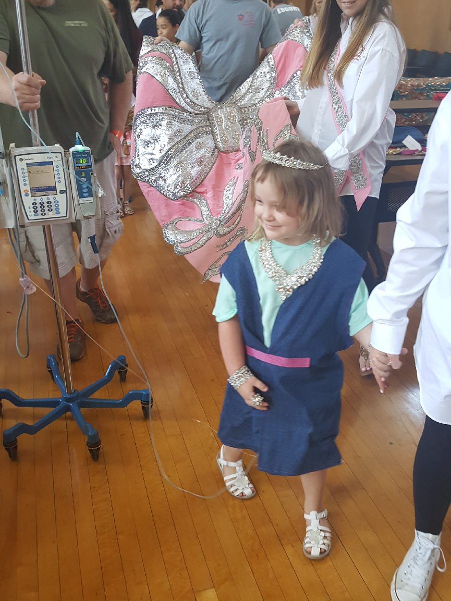 Driscroll Children's Hospital Child with duchesses