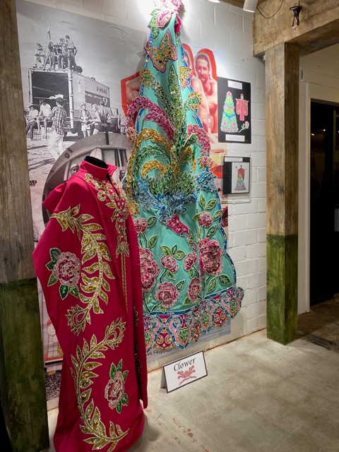 Red robes displayed