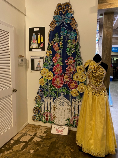 Yellow Robes Display